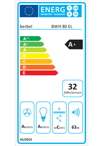 Energy-label berbel Emotionline BWH 80 EL