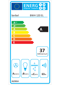 Energy-label berbel Emotionline BWH 120 EL