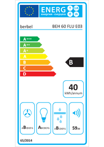 Energy-label berbel BEH 60 FLU
